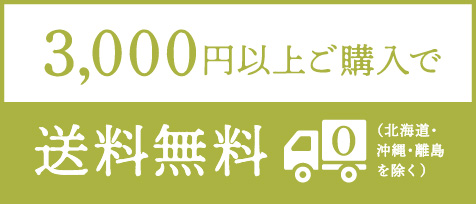3,000円以上ご購入で送料無料